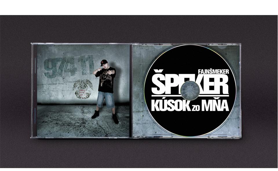 CD cover -  web stránka