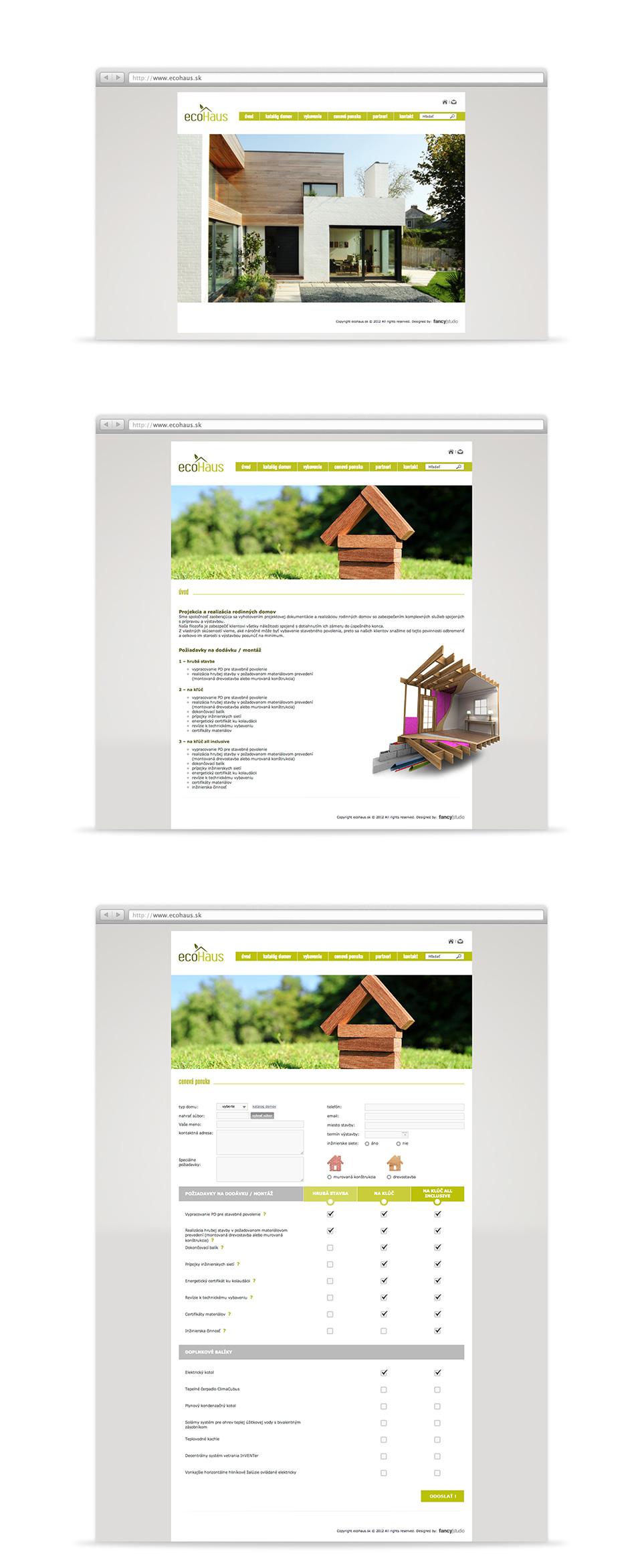 ecohaus -  web page