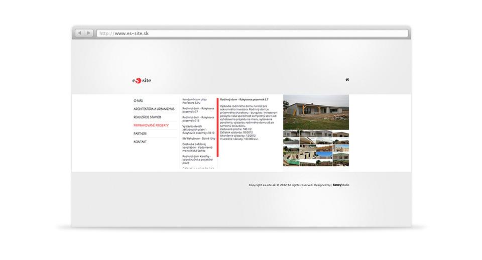 es site -  web page