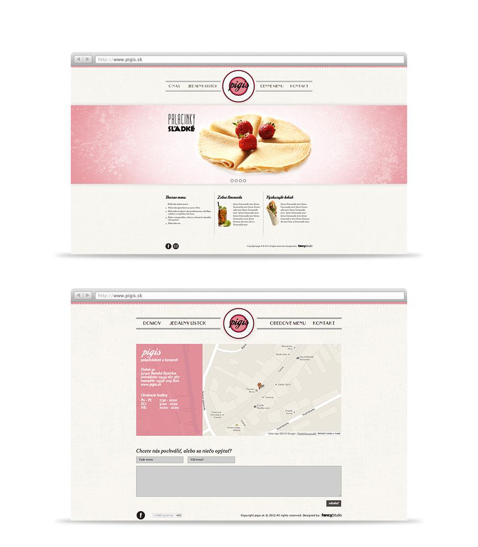 pigis -  web stránka