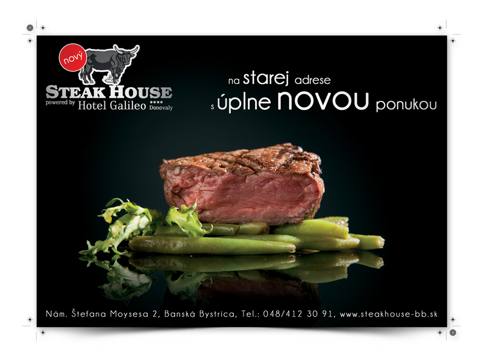 steak house -  web page