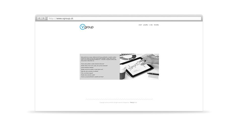 v group -  web page